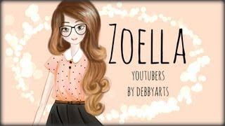 Zoella ▪ Drawing by ~DebbyArts