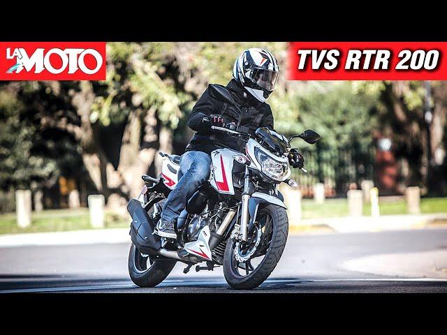 Novedad: TVS RTR 200