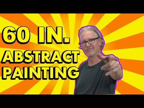 Abstract Painting Tutorial - Acrylic Abstract Art - Fairmont