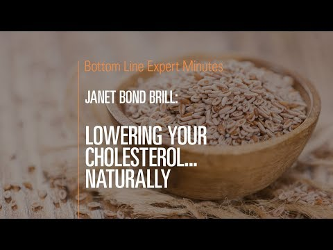 Lowering Your Cholesterol…Naturally