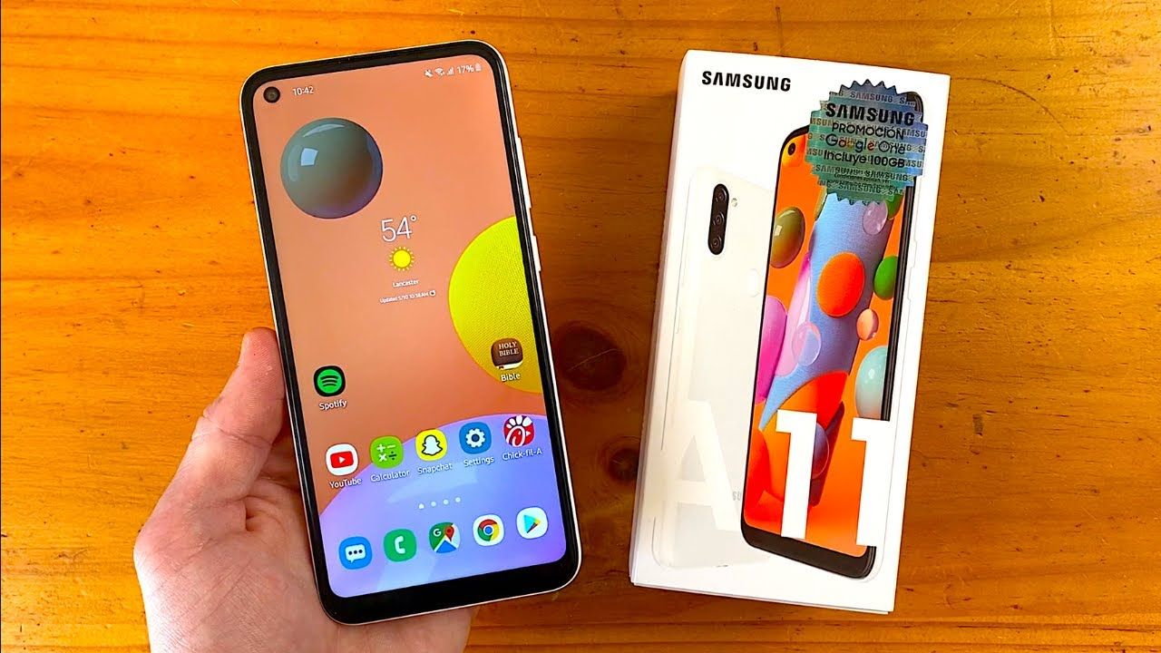 video Samsung Galaxy A11