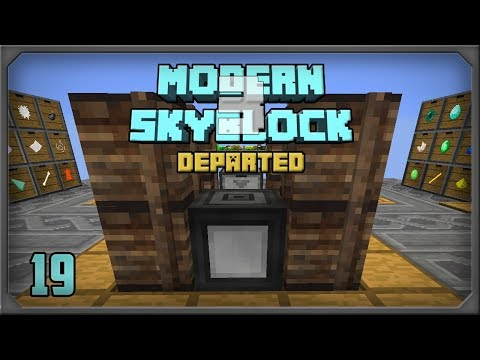 Modern Skyblock 3 Departed EP19 Extra Utils 2 Indexer + Wireless RF
