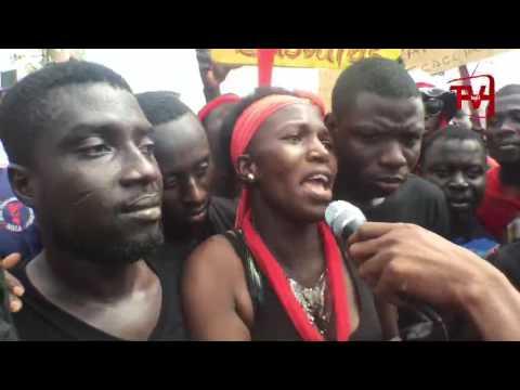 ANTI CORRUPTION DEMO HITS ACCRA