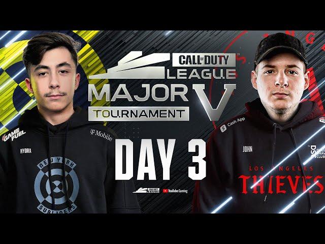 Atlanta FaZe vs Seattle Surge   Stage V Major Tournament   Day 3