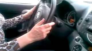 Вождение автомобиля - Передняя змейка