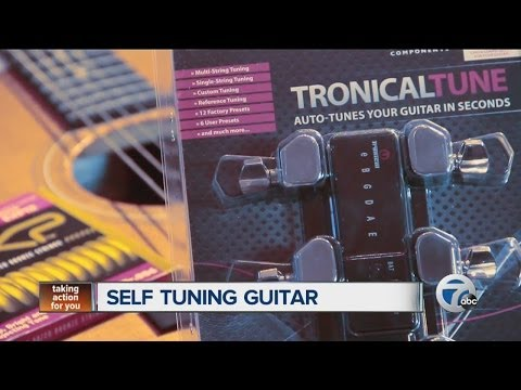 Self tuning guitar