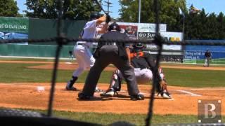 Cutter Dykstra - 2B - Hagerstown Suns (5-20-2012 vs. Delmarva)