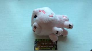 Обзор: плюшевая свинка, Майнкрафт (Mine-Craft-Toys.ru)