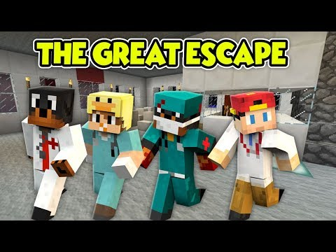 MINECRAFT THE GREAT ESCAPE - THE LITTLE CLUB ESCAPE THE HOSPITAL