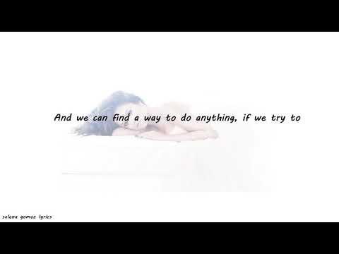 Selena Gomez - Live Like There's No Tomorrow Lyrics
