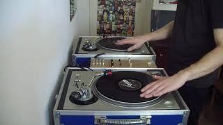 DJ Mr. K - RZA#7 (Ghost Dog Soundtrack) beat juggling practice (2012)