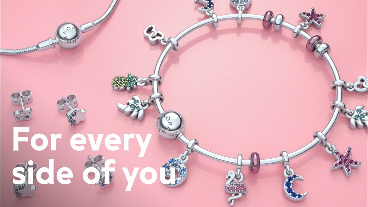 Say something about you without saying a word with jewellery from the  Pandora Me collection