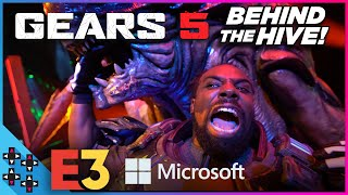 GEARS 5: ESCAPE MODE WORLD PREMIERE: Behind the scenes with AJ Styles, Austin Creed and Tyler Breeze
