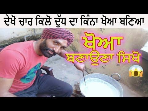 Khoya recipe homemade | how to make mawa or khoya at home from milk - jaanmahal video