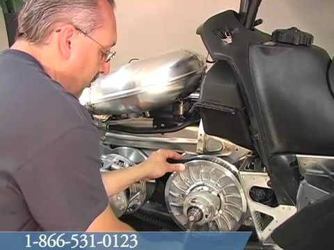 Replacing Belt - 2010 Arctic Cat Crossfire 600 Snowmobile