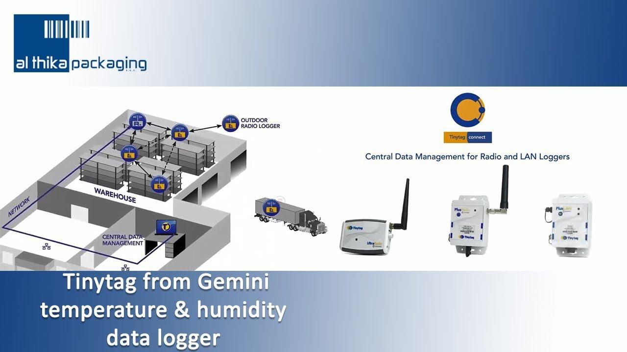 Data logger supplier, Tinytag Gemini Datalogger, Dubai UAE