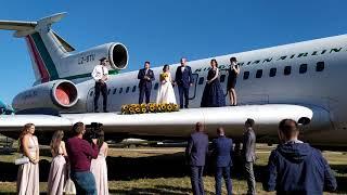 Весілля в авиомузея Бургас - частина 1