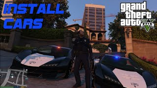 LSPDFR OpenIV tutorial - How to Install Cars, using Mods folder. Zentorno Police - Lamborghini