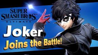 Super Smash Bros Ultimate Joker 1st Gameplay!