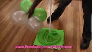 How to Build a Balloon Dance Floor