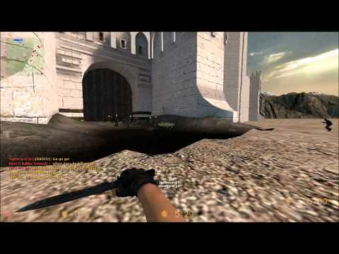 Counter-Strike: Source Zombie Escape ze_LOTR_Minas_Tirith_v1 First Look [HD]