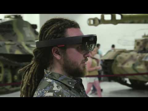 Wargaming HoloLens+Tango technology demonstration at Tankfest 2017