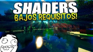 TOP 5 MEJORES SHADERS PARA MINECRAFT 1.11, 1.10, 1.9 y 1.8 - Sin Lag, Bajos Requisitos y Optimizados