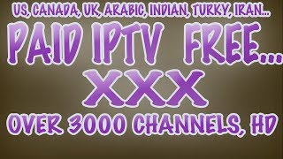 How To Get PAID iPTv for FREE... HD Quality! Live TV