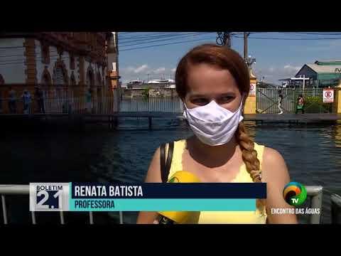 BOLETIM 2.1 - NÍVEL DO RIO NEGRO ATINGE MARCA HISTÓRICA NO AMAZONAS - 31.05.2021