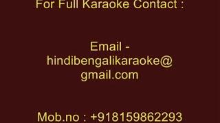 Jodi Kagoje Lekho Naam Jodi - Karaoke - Manna Dey