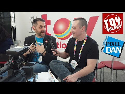 Dan and Dan on Toy Fair 2019 - Pixel Dan and Toy Galaxy