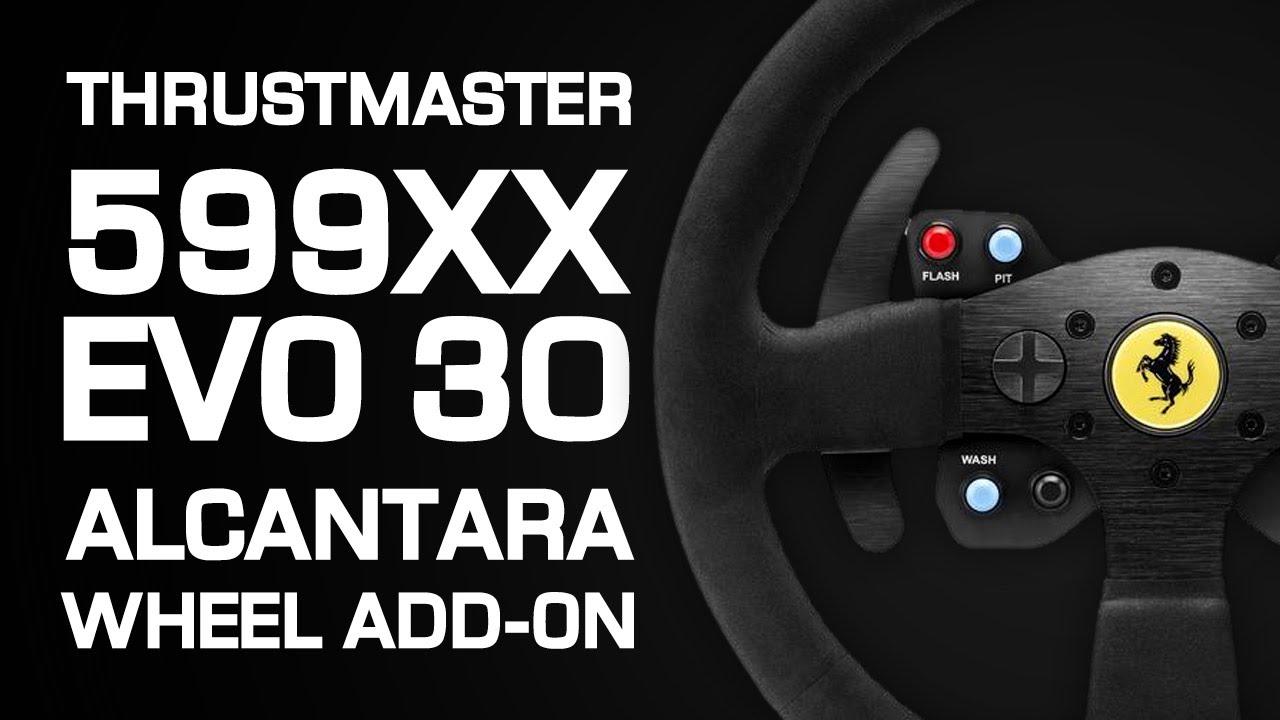 thrustmaster 599xx evo 30 wheel add on. Black Bedroom Furniture Sets. Home Design Ideas