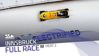 Innsbruck | BMW IBSF World Cup 2019/2020 - 2-Man Bobsleigh Heat 2 | IBSF Official