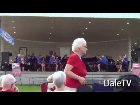 Goderich Laketown Band at Lions Harbour Park 2015