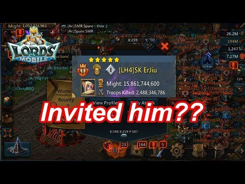 LH Invited SK Erjiu , Handicap Match, Who Will Prevail?  - 王國紀元 Lords Mobile