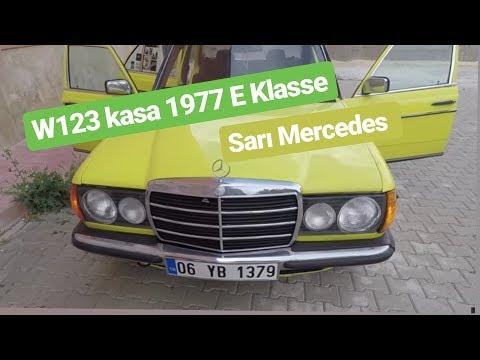 SARI MERCEDES ! - Stuttgart Güzeli W123 - İncelemeli Kurcalama