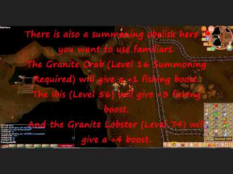 Runescape- ULTIMATE Rocktail Fishing Guide- Best Exp And Great Money