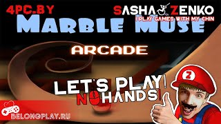 Marble Muse Arcade Gameplay (Chin & Mouse Only)