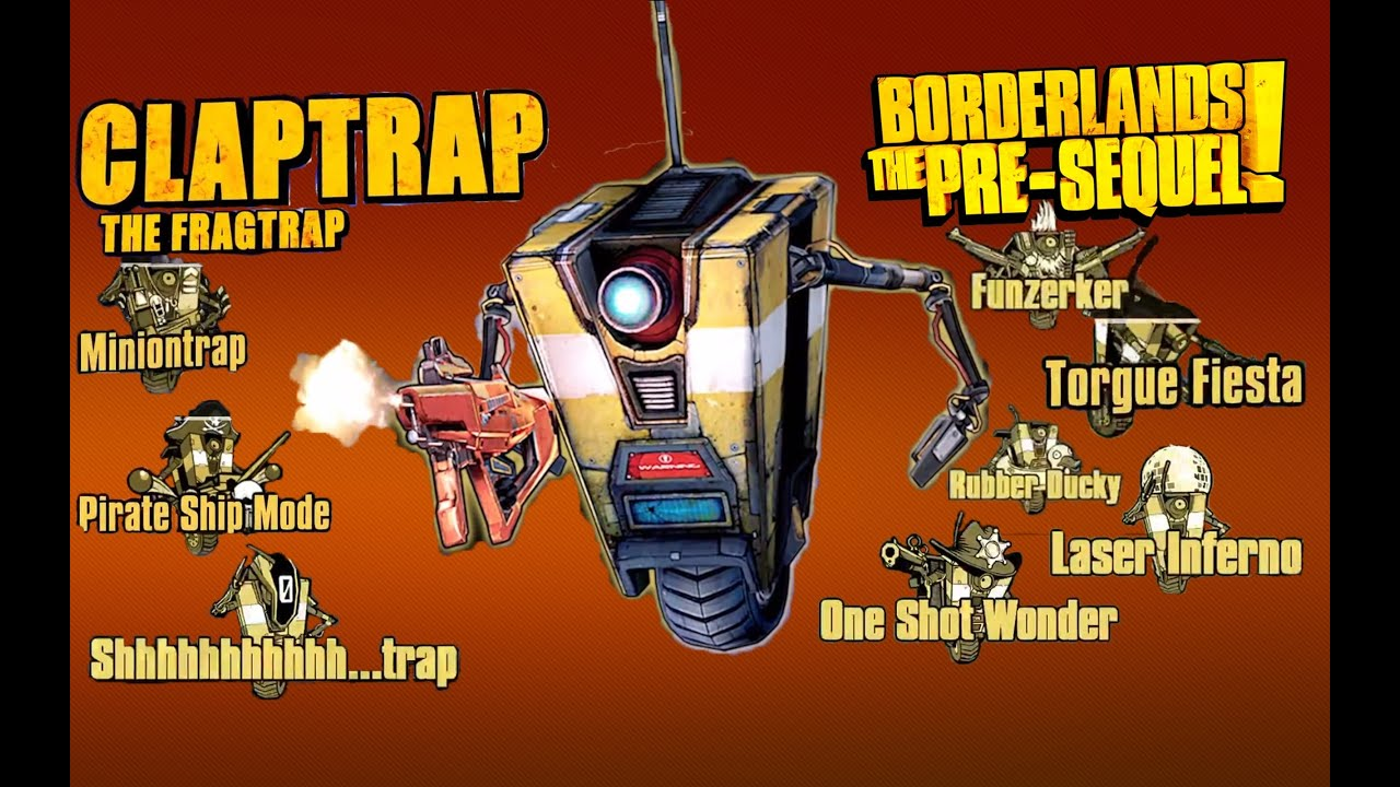 Borderlands Pre Sequel Best Build For Claptrap