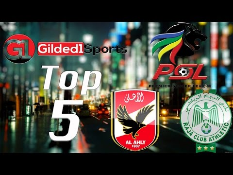 Top 5 African Football Leagues