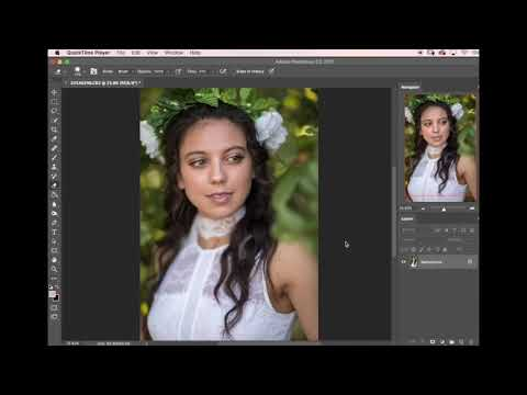 Molly's Minute Photoshop Tips - healing