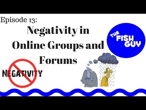 Ep. 13 - Negativity in Online Groups and Forums