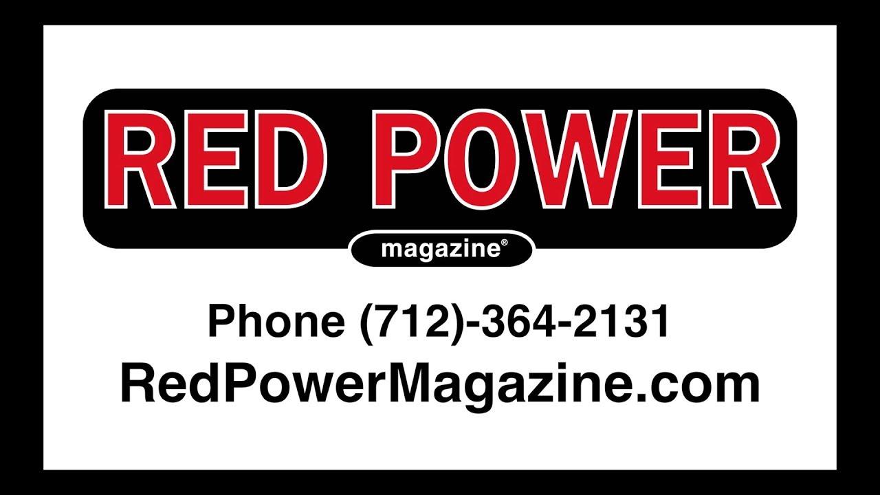 Red Power Magazine - Classic Tractor Fever - TV Sponsor