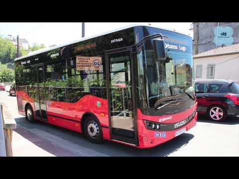 """Arroxo reivindica que os novos buses están """"adaptados á realidade de cada barrio"""""""