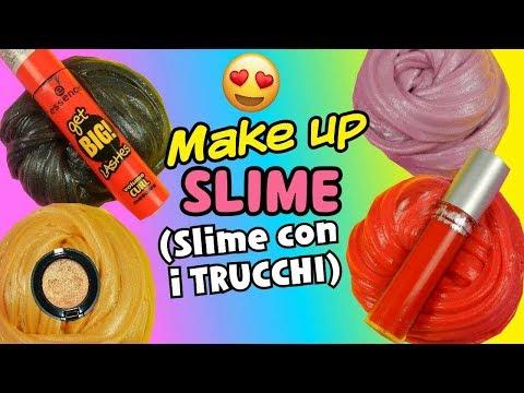 SLIME MAKE UP (SLIME CON I TRUCCHI,ROSSETTO,OMBRETTO,MASCARA E FONDOTINTA) Iolanda Sweets
