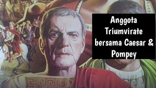 Marcus Crassus, manusia terkaya di Romawi #109
