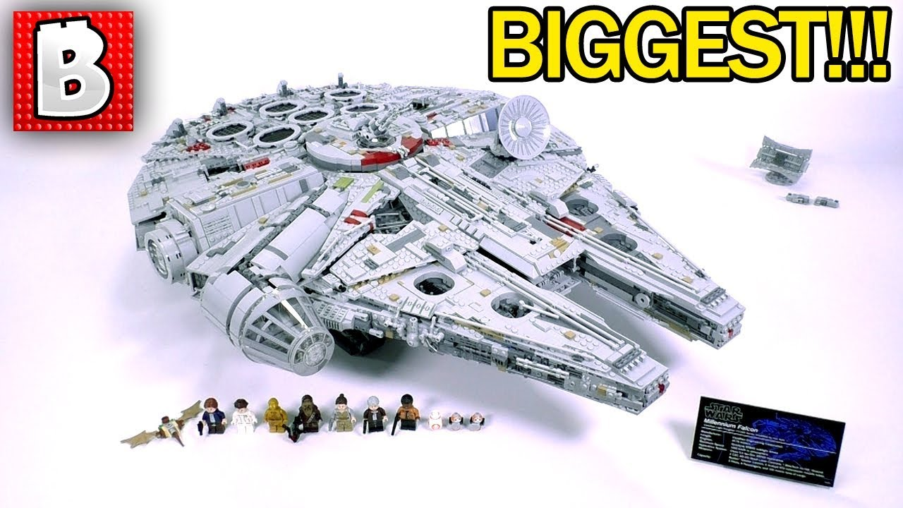 Lego 75192 Ultimate Collector Series Millennium Falcon ...