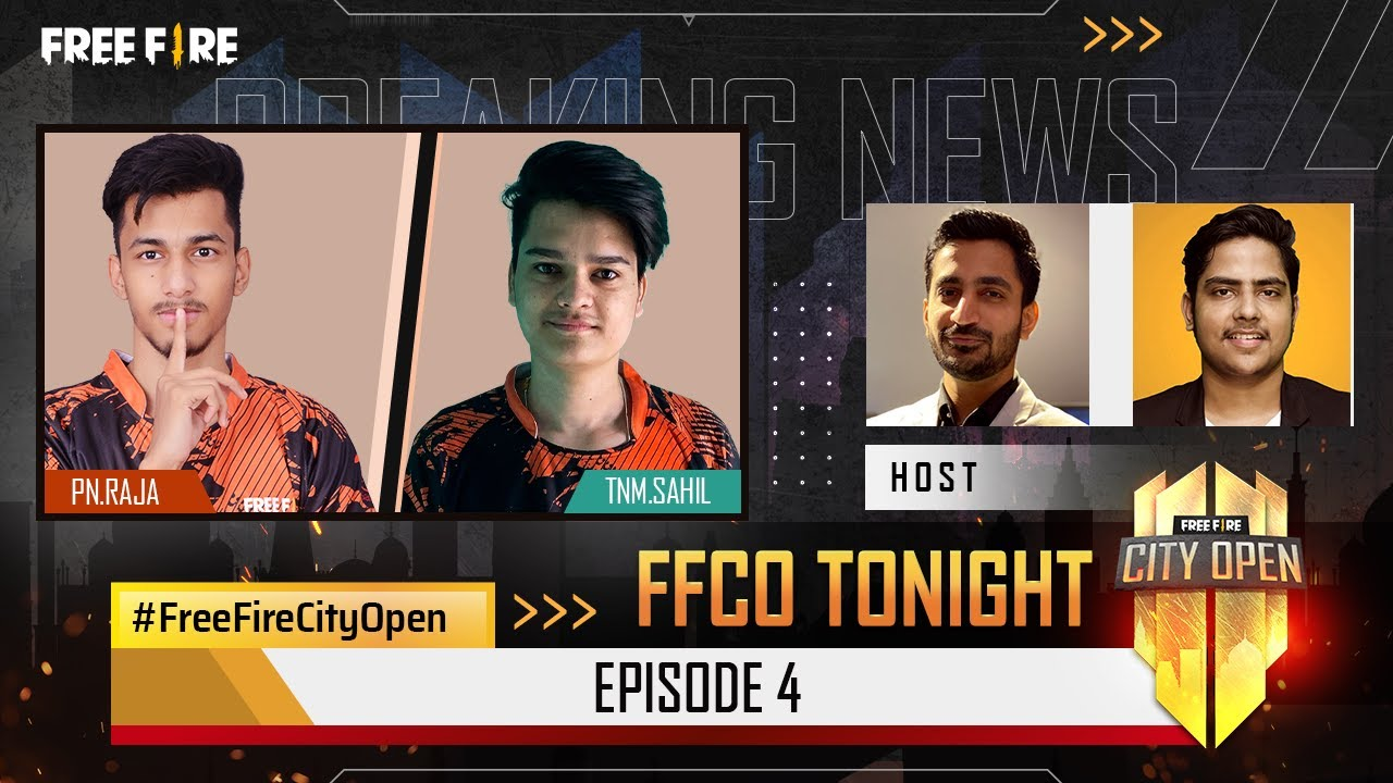 Free Fire City Open Tonight   Episode 4   FFCO