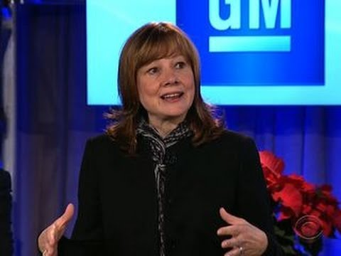 Mary Barra becomes auto industry's first female CEO