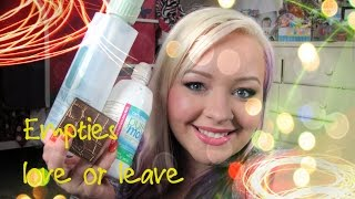 Empties | love it or leave it Thumbnail